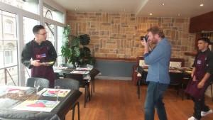 Olivier Papegnies en Action avec nos stagiaires.